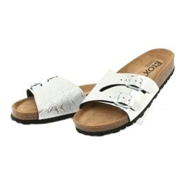 Klapki FOOT-COMFORT BIOX CATTY szare 2