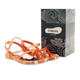 Buty dziecięce japonki do wody Ipanema 80360 pomarańczowe pomarańczowe 5