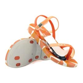 Buty dziecięce japonki do wody Ipanema 80360 pomarańczowe pomarańczowe 4
