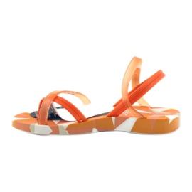Buty dziecięce japonki do wody Ipanema 80360 pomarańczowe pomarańczowe 3