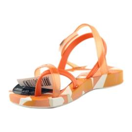 Buty dziecięce japonki do wody Ipanema 80360 pomarańczowe pomarańczowe 2