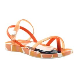 Buty dziecięce japonki do wody Ipanema 80360 pomarańczowe pomarańczowe 1
