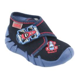 Befado obuwie dziecięce 523P011 granatowe 1