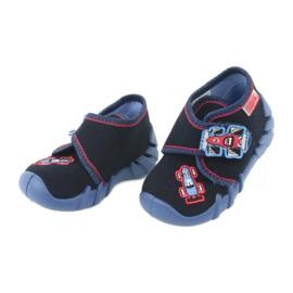 Befado obuwie dziecięce 523P011 granatowe 3