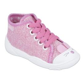 Befado obuwie dziecięce 218P060 różowe 1