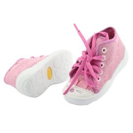Befado obuwie dziecięce 218P060 różowe 5