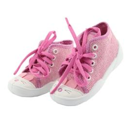 Befado obuwie dziecięce 218P060 różowe 3