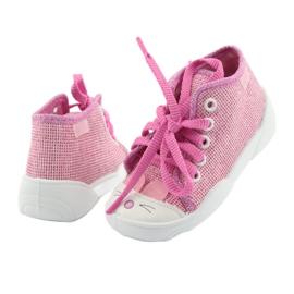 Befado obuwie dziecięce 218P060 różowe 4