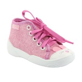 Befado obuwie dziecięce 218P060 różowe 2