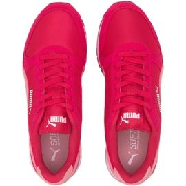 Buty Puma St Runner v2 Mesh Jr W 367135 08 różowe 1