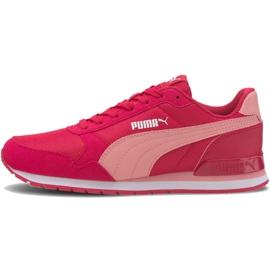 Buty Puma St Runner v2 Mesh Jr W 367135 08 różowe 2