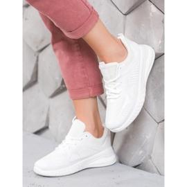 SHELOVET Sportowe Sneakersy białe 2