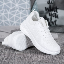 SHELOVET Sportowe Sneakersy białe 3