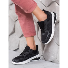 SHELOVET Sportowe Sneakersy czarne 1