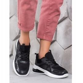 SHELOVET Sportowe Sneakersy czarne 4