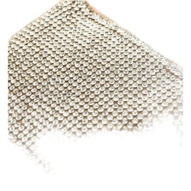 Brązowe klapki z cyrkoniami 839-761 srebrny 3