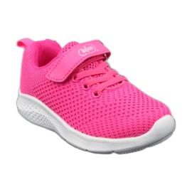 Befado obuwie dziecięce 516X044 różowe 2