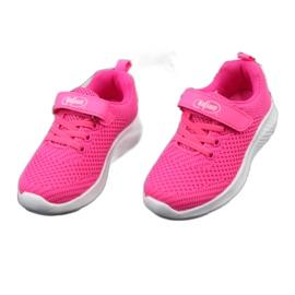 Befado obuwie dziecięce 516X044 różowe 4