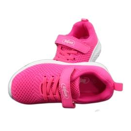 Befado obuwie dziecięce 516X044 różowe 5