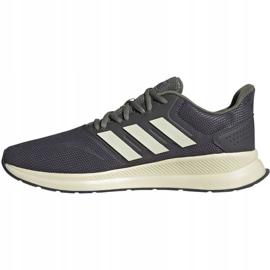 Buty biegowe adidas Runfalcon M EG8617 szare 1