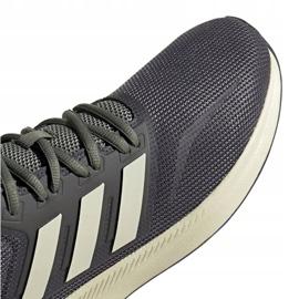 Buty biegowe adidas Runfalcon M EG8617 szare 3