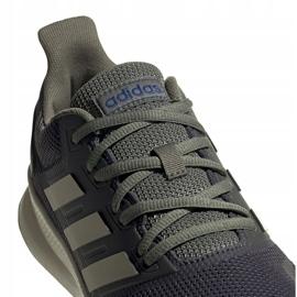 Buty biegowe adidas Runfalcon M EG8617 szare 4