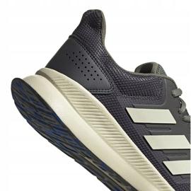 Buty biegowe adidas Runfalcon M EG8617 szare 5