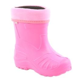 Befado obuwie dziecięce kalosz- róz 162Y101 różowe 1