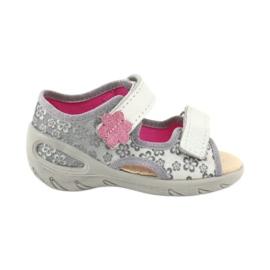 Befado obuwie dziecięce pu 065P139 szare 1