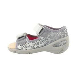 Befado obuwie dziecięce pu 065P139 szare 2