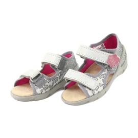 Befado obuwie dziecięce pu 065P139 szare 3
