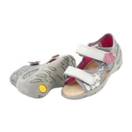 Befado obuwie dziecięce pu 065P139 szare 4