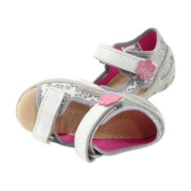 Befado obuwie dziecięce pu 065P139 szare 5