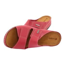 Inblu obuwie damskie 158D105 czerwone 5