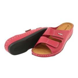 Inblu obuwie damskie 158D105 czerwone 4