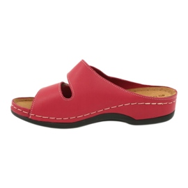 Inblu obuwie damskie 158D105 czerwone 2