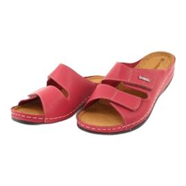 Inblu obuwie damskie 158D105 czerwone 3