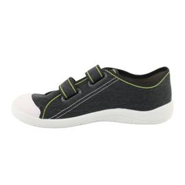 Befado obuwie młodzieżowe 124Q006 szare 2