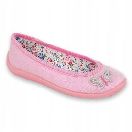 Befado obuwie dziecięce  980X098 różowe 1