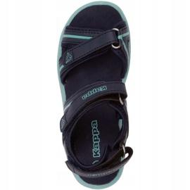 Sandały Kappa Breezy Ii K Footwear Jr 260679K 6737 niebieskie 1
