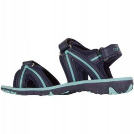Sandały Kappa Breezy Ii K Footwear Jr 260679K 6737 niebieskie 2