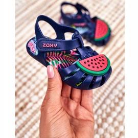 Dziecięce Sandałki Na Rzep Pachnące Arbuz ZAXY FF3855013 granatowe 1