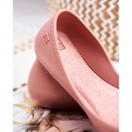 Damskie Baleriny Pachnące Gumowe ZAXY Różowe FF285052 6