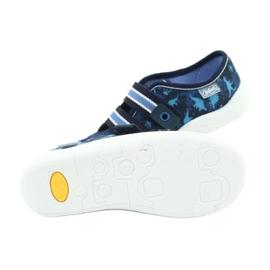 Befado obuwie dziecięce  672X066 granatowe niebieskie 6