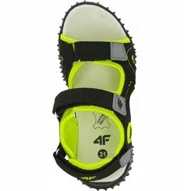 Sandały 4F Jr HJL20 JSAM001 21S czarne 1