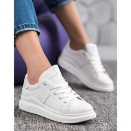 Sweet Shoes Białe Sneakersy 5