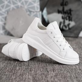 Sweet Shoes Białe Sneakersy 3