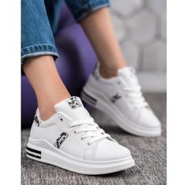 Sweet Shoes Białe Sneakersy 4