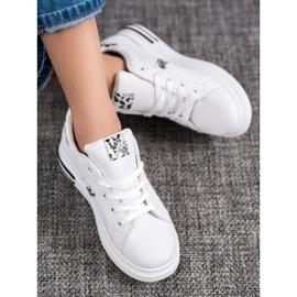 Sweet Shoes Białe Sneakersy 1