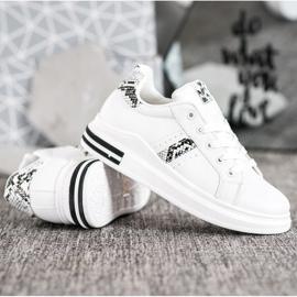 Sweet Shoes Białe Sneakersy 2